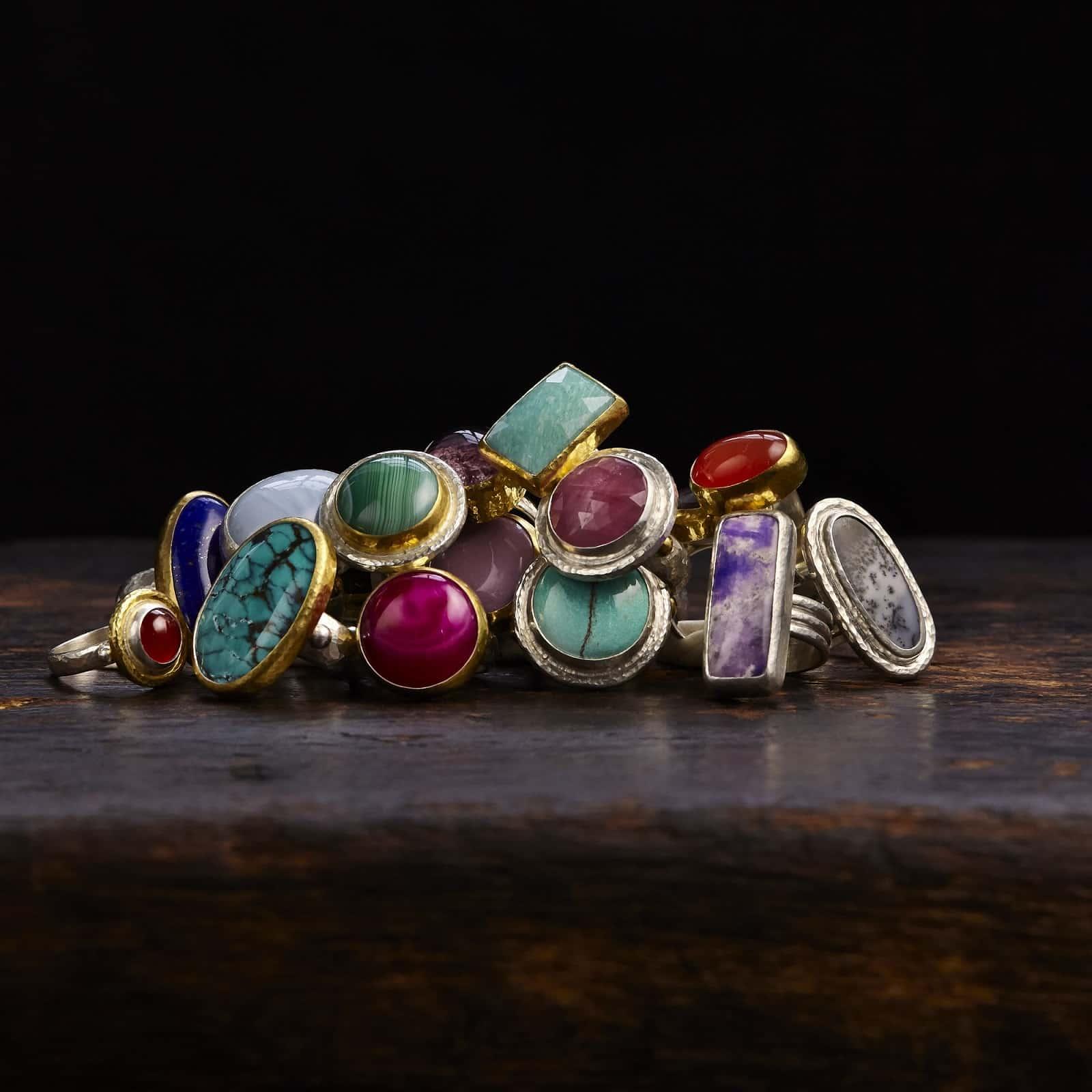 Gurhan Silver Rings