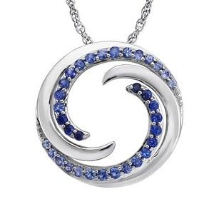 Double Wave Pendant